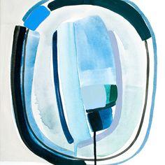 Blue Eyes II by Britt Bass Turner on Artfully Walls