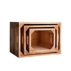 Set of 3 1945 Crates