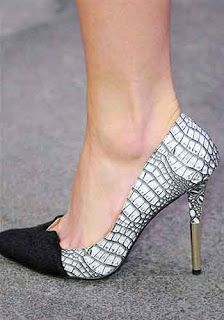 Elegant shoes.