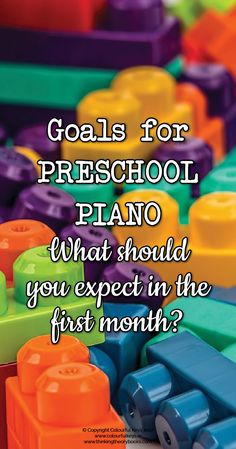 What can you expect to achieve in piano lessons with a 4 year old? These are my top four goals for the first month with a 4 year old piano student. Music Lessons For Kids, Piano Lessons, Piano Teaching, Teaching Kids, Learning Piano, Teaching Tools, Teaching Resources, Piano Classes, Old Pianos