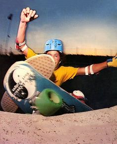 "I was lucky to see Dennis Martinez when he was among others....in Tulsa Oklahoma. The Ridge Rider skatepark held a contest and Dennis was a guest pro skater. My late friend David has the ""flying aces"" skateboard!!!! Ahhh....great times. My guess....was early 1980's."