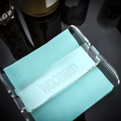 We can't wait to add a personalized touch to our bar cart! graciousbridal.com has all of your acrylic barware needs! A fabulous gift for family, friends or yourself.
