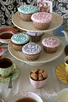 mad hatter cupcakes recipe - Google Search