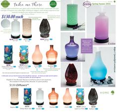 Scentsy 2016 Diffusers including 3 returning ( Aspire, Evolve, and Instill) and 4 new Diffusers: Evoke Diffuser, Reflect diffuser,. All have adjustable light and mist. 2 new Kid's line diffusers that include movable magnets          (  Deep Blue Sea Diffuser & Once Upon a Time Diffuser ). Each are $130 and Available March 1, 2016 at https://postalgirl.scentsy.us Scentsy Diffusers, Scentsy Kids Line, Scentsy Spring Summer