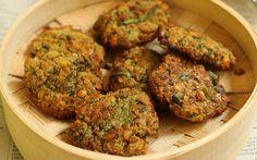Baked Masala Dal Vada Recipe