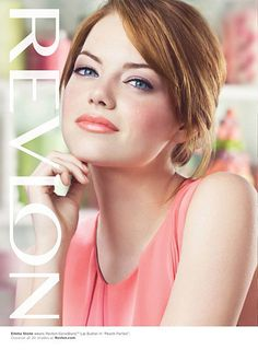 Revlon ad with Emma Stone for ColorBurst lip butter