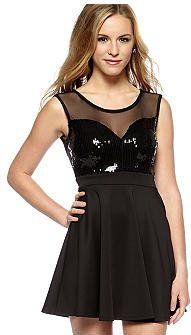 #belk.com                 #Skirt                    #Living #Doll #Sequin #Full #Skirt #Dress           Living Doll Sequin & Full Skirt Dress                                         http://www.seapai.com/product.aspx?PID=534557