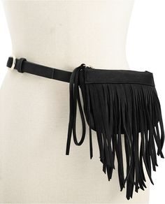 INC International Concepts INC International Concepts Fringe Fanny Pack, Only at Macy's - $31.15