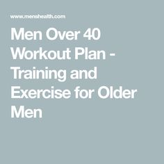 Build Muscle After 40 With This Full Body Workout Plan - Men Over 40 Workout Plan – Training and Exercise for Older Men - Leg And Back Workout, Full Body Workout Plan, Slim Waist Workout, Workout Plan For Men, Workout Plan For Beginners, Fitness Workout For Women, Workout Guide, Woman Workout, Fitness Wear