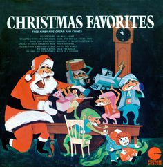 I bought this in the fall of 1972 at Kmart for 50 cents.  Fred Kirby Pipe, Organ & Chimes - Christmas Favorites