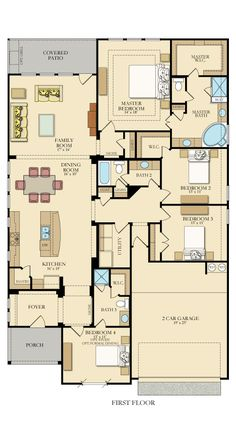Kershaw 4840 New Home Plan in Johnson Ranch - Camden by Lennar