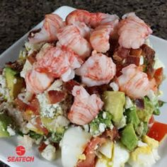 Langostino Lobster COBB Salad Recipe
