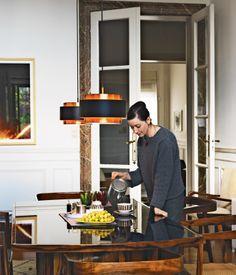 Udechuku and Smith consider the rare rosewood-and-black glass dining set by Joaquim Tenreiro the highlight of their Brazilian Modern exhi...