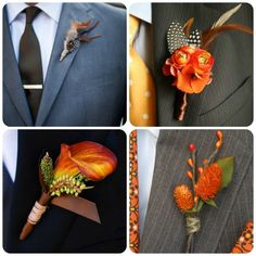 Fall Wedding Ideas - Uniquely Yours Wedding Invitation #fallwedding #weddingboutonniers #fallweddinginspiration
