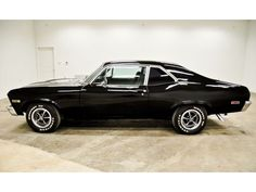 71 Black on Black SS 350 4 speed Nova General Motors, Classic Hot Rod, Classic Cars, My Dream Car, Dream Cars, Cheap Used Cars, Gm Car, Chevy Nova, Car Advertising