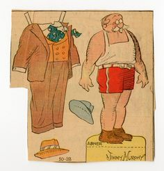 78.2535: Abner | paper doll | Paper Dolls | Dolls | Online Collections | The Strong