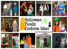 Need a family costumes idea for Mickey's Not So Scary Halloween Party?