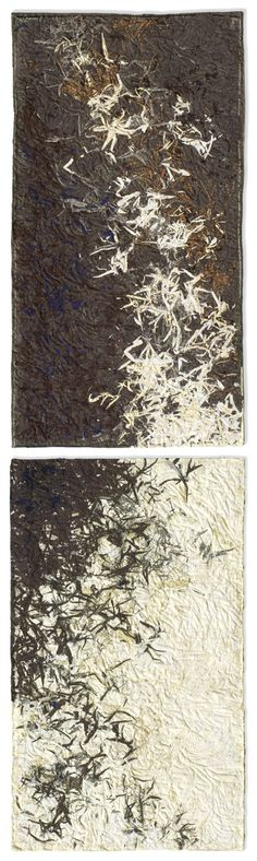 textile: Lorraine Roy 26x95 inches, Transition vertical $3500
