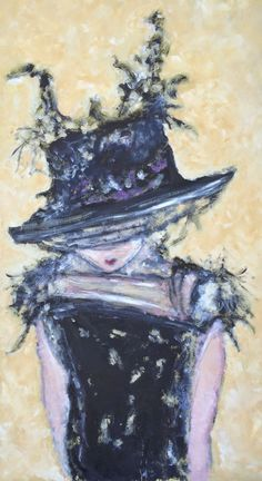 """Title: """"Mademoiselle Coco"""" by ZsaZsa Bellagio  Medium: Oil on Board  details here:  http://artpassionzsazsabellagio.blogspot.com/2015/01/mademoiselle-coco.html"""