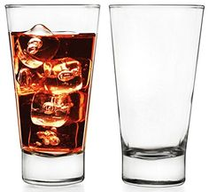 Circleware Downtown Drinking Glasses  Set of 4 1325 Ounce Limited Edition Glassware Serveware Drinkware Drinking Glassescups * Continue to the product at the image link.