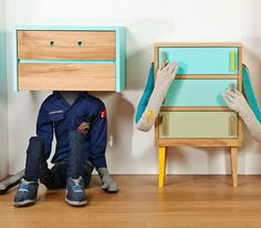 Ha. Ace furniture for kids' rooms.