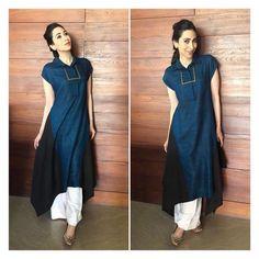 Kurta Designs Women, Blouse Designs, Indian Designer Outfits, Designer Dresses, Designer Kurtis, Indian Dresses, Indian Outfits, Stylish Dresses, Fashion Dresses