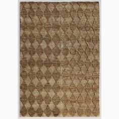 Handmade Taupe/ Ivory Hemp Eco-friendly Rug (4 x 6)