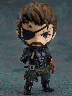 Metal Gear Solid V Venom Snake Nendoroid Action Figure