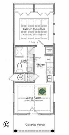 This Is Texas Tiny Homes Latest Plan Design, Which Is Ideal For Single  Persons, Young Couples :great Floor Plan: