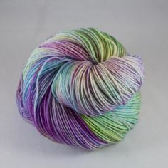 Hand Dyed Sock Yarn 100% superwash extrafine by JellybeansYarns