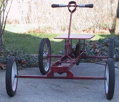 Four wheel fun how to make an irish mail cart pump for Irish mail cart plans