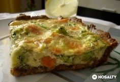 Quiche, Kefir, Mozzarella, Breakfast, Foods, Diet, Morning Coffee, Food Food, Food Items