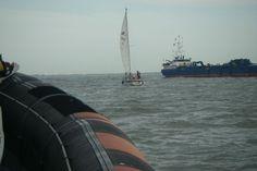 KNRM Reddingstation Breskens Reddingrapporten - Touw in de schroef, reddingboot Zeeemanshoop komt ter plaatse.