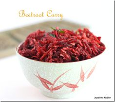 Beet root curry--I'm on a beet kick, what can I say? :)