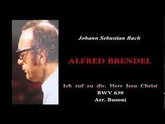 """BRENDEL, J.S.Bach """"Ich ruf zu dir, Herr Jesu Christ"""", BWV 639"""