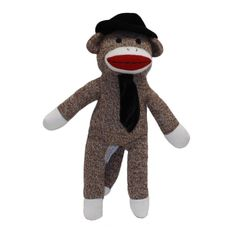 Mr. Coconuts is the dad of the Sock Monkey Family.  He spends his day working at the banana factory.