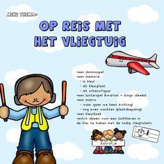 mini thema: op reis met het vliegtuig Mini, Tanzania, Transportation, Around The Worlds, Teaching, Dutch, Dutch Language, Learning, Education