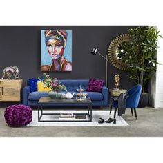 Aurelle Home Colorful Glam Wall Decor - Multi-color, Multicolor Small Sideboard, Vancouver, Moe's Home Collection, Velvet Pillows, Stores, Home Collections, Contemporary Design, Modern Design, Modern Furniture