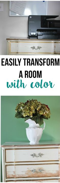 Easily Transform a Room with Color #DElivecolorfully ad