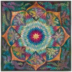 Lone Star Quilt Pattern | Ricky's dynamic variation on the traditional Lone Star is destined to ...
