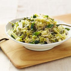 Melted Savoy Cabbage with Herbs