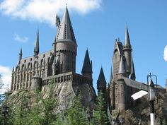 Hogwarts    I'm still waiting for my acceptance letter, but visiting Harry Potter World is my next dream. :)
