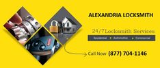 The reputed Locksmith Alexandria specialists provides the very best and high-quality locksmith services well within their means and ensure that no extra penny is charged from the clients during emergency situations. All the services are accessible at your doorstep and the prices are kept at the minimum possible level so that no one faces a financial burden. To get more information, please call us at (877) 704-1146. #AlexandriaLocksmith #LocksmithAlexandria #LocksmithinAlexandriaVA