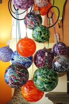 Blown Glass Balls Available At The Re Inspiration Store
