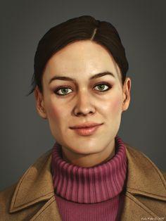 ArtStation - Yekaterina - Game Character, Andor Kollar