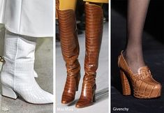 Fall/ Winter 2019-2020 Shoe Trends: Fall 2019 Runway Shoes & Boots