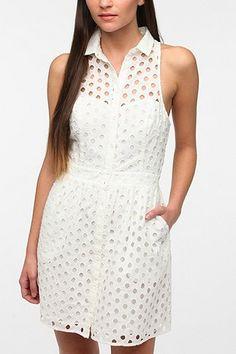 Kimchi Blue Betty Eyelet Dress - Urban Outfitters