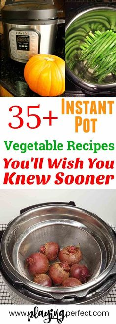 Instant Pot vegetable recipes Easy veggie Instant Pot recipes Get ready to make the best Instant Pot recipes Weve got Instant Pot cauliflower Instant Pot broccoli Instant. Healthy Vegetable Recipes, Healthy Vegetables, Easy Healthy Recipes, Easy Dinner Recipes, Easy Meals, Paleo Dinner, Healthy Eats, Delicious Recipes, Yummy Food