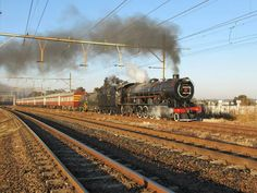 South African Railways, Steam Locomotive, Landscape Photography, Trains, Pictures, Scenery Photography, Landscape Photos, Train, Scenic Photography