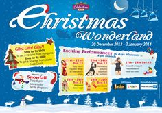 Celebration Mall presents Christmas Wonderland from Dec 20-Jan 02, 2014. The celebration will bring you exciting performances everyday 6 pm onwards http://getitmalls.com/Pages/Event-Details.aspx?EventId=269